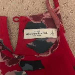 Abercrombie Red Tank Top